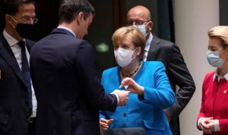 Unmaskierter Spanier erbeutet 140 Milliarden Steuergelder von der EU