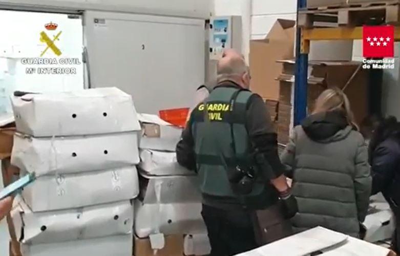 Fleischskandal: 122.000 Kilo abgelaufenes Fleisch beschlagnahmt das an Gesundheits- und Bildungszentren in Malaga verschickt wurde
