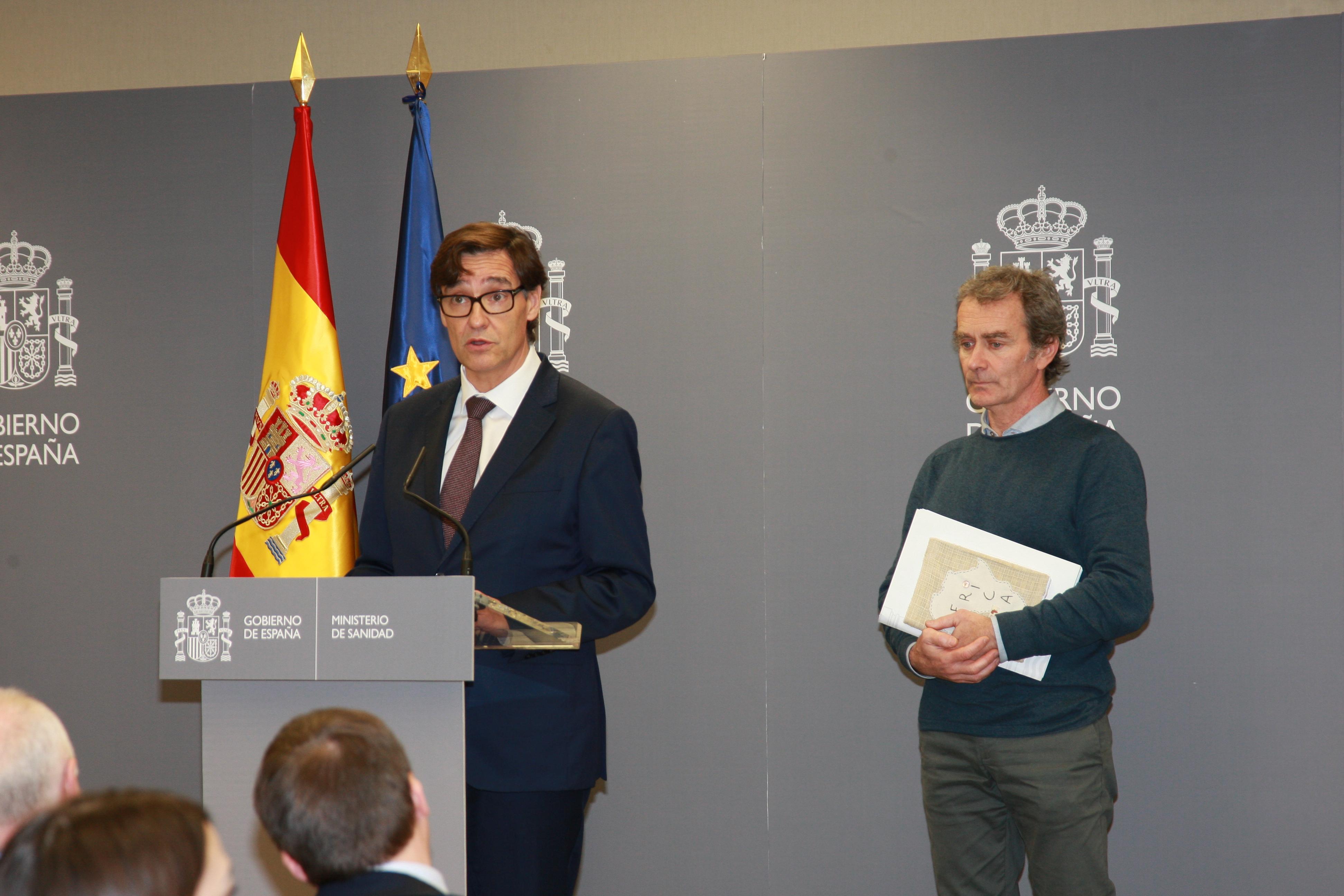 Siegessicher: Gesundheitsminister Illa tritt am Dienstag zurück um sich dem Wahlkampf in Katalonien zuzuwenden