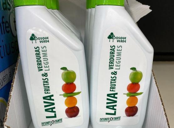 Spanische Supermarktkette Mercadona bringt Produkt zur Desinfektion von Obst und Gemüse auf den Markt