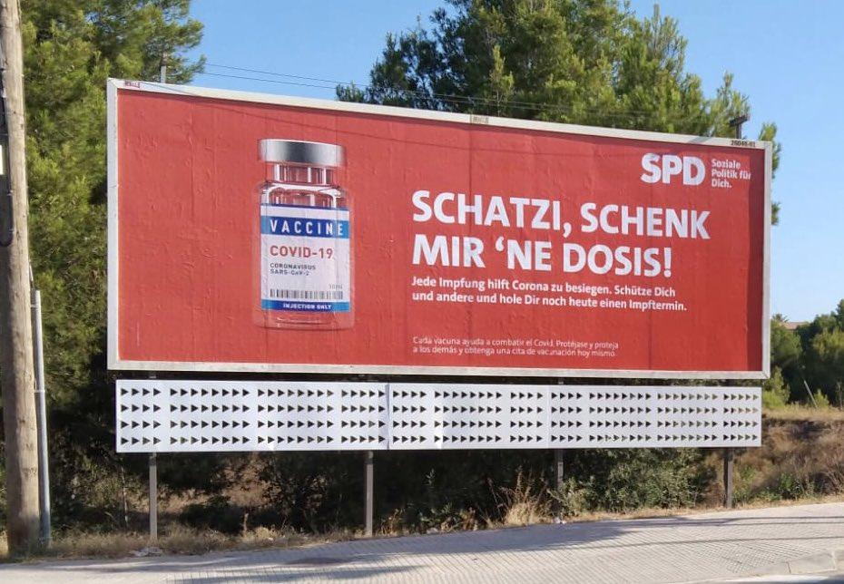 Mallorca: Schatzi schenk mir ne Dosis – SPD Impfpropaganda am Ballermann