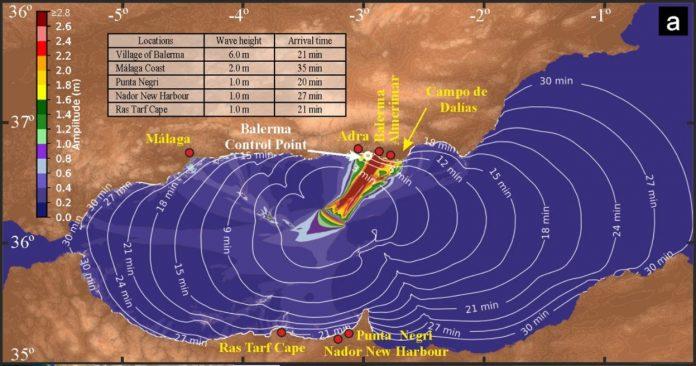 CSIC-Studie warnt vor einem Tsunami in Südspanien